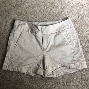 Tan Banana Republic Dress Shorts